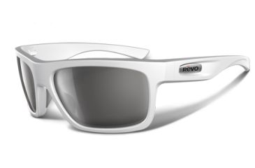 Revo Stern 4056 RX Single Vision Sunglasses - Polished White Nylon Frame RE4056-03RX