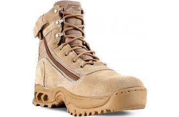 Ridge Outdoors 3003Z Desert Storm Zipper Quarter Boot, Sand, 10 3003Z10.0