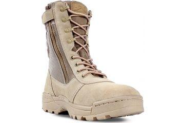 Ridge Outdoors 3105 Dura-Max Desert Zipper Boot, Sand, 6 31056.0