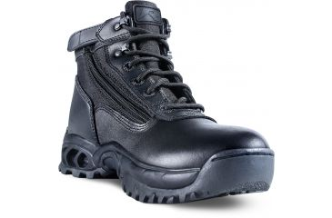 Ridge Outdoors 8003 Mid Side Zip Boot, Black, 10W 800310.0W