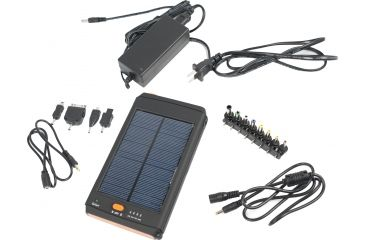 Ripa Super Solar Charger GSD-01 w/Accessories