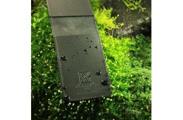 Rite in the Rain 3X5 COVER - BLACK LEATHER - TOP, Black, 3 x 5 33