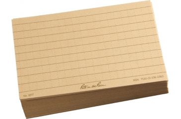 Rite in the Rain 3X5 INDEX CARDS - TAN, Tan, 3 x 5 991T