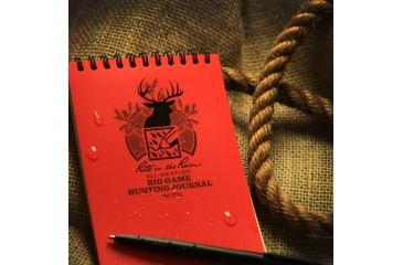Rite in the Rain 4X6 NOTEBOOK - BIG GAME HUNTING, Yellow, 4 x 6 1721