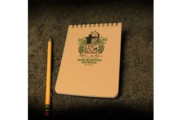 Rite in the Rain 4X6 NOTEBOOK - BOW HUNTING, Yellow, 4 x 6 1722