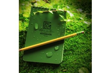 Rite in the Rain 4X6 NOTEBOOK - GREEN, Green, 4 x 6 946