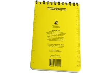 Rite in the Rain 4X6 NOTEBOOK - JOB BRIEFING, Yellow, 4 x 6 151