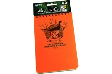 Rite in the Rain 4X6 NOTEBOOK - UPLAND HUNTING, Yellow, 4 x 6 1712
