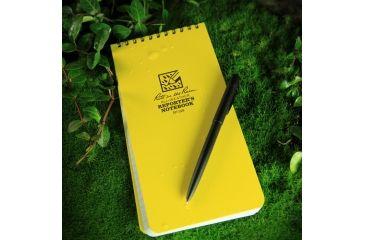 Rite in the Rain 4X8 NOTEBOOK - YELLOW - REPORTERS, Yellow, 4 x 8 148