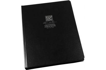 Rite in the Rain 8-1/2 X 11 Bound Book - Blackfabrikoid Cover - Universal, Black, 8 1/2 x 11 770F-MX