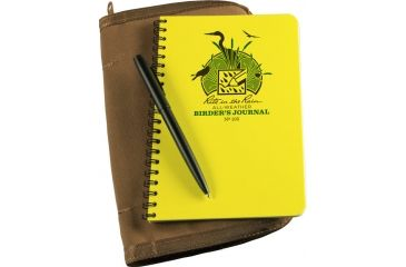 Rite in the Rain BIRDERS FIELD JOURNAL KIT, Yellow, 4 5/8 x 7 195-KIT