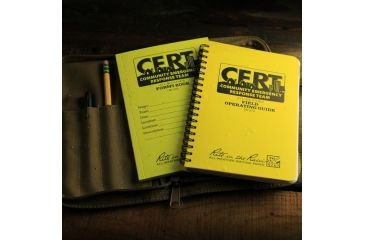 Rite in the Rain CERT FIELD KIT, Yellow, 4 5/8 x 7 CERT-KIT