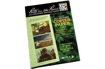 Rite in the Rain COPIER PAPER - GREEN - 8.5 X 11 - 200 SH, Green, 8 1/2 x 11 9511