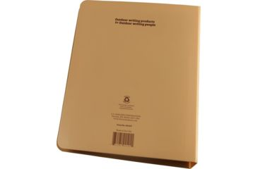 "Rite in the Rain FIELD BINDER - 1"" - TAN, Tan, 5 5/8 x 7 1/2 9210T"