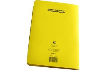 "Rite in the Rain RING BINDER - 1/2"" - YELLOW, Yellow, 5 5/8 x 7 1/2 200"