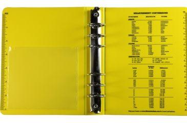 "Rite in the Rain RING BINDER - 1"" - YELLOW, Yellow, 5 5/8 x 7 1/2 210"