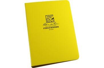 """Rite in the Rain RING BINDER - 4"""" X 6 1/2"""" - YELLOW, Yellow, 4 x 6 1/2 204"""