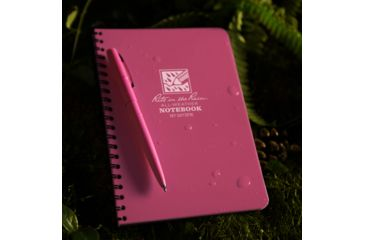Rite in the Rain Side Spiral Notebook, Pink, 4 5/8 x 7 1973PK