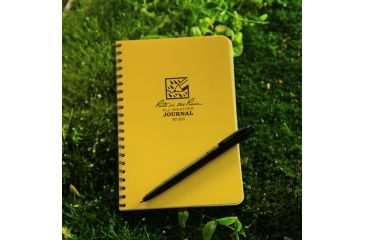 Rite in the Rain SPIRAL NOTEBOOK - JOURNAL, Yellow, 4 5/8 x 7 393