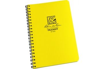 Rite in the Rain SPIRAL NOTEBOOK - TRANSIT, Yellow, 4 5/8 x 7 303
