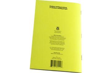 Rite in the Rain STAPLED NOTEBOOK - CRUISER'S TRANSIT, Yellow, 4/5/8 x 7 341