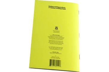 Rite in the Rain STAPLED NOTEBOOK - TRANSIT, Yellow, 4/5/8 x 7 301