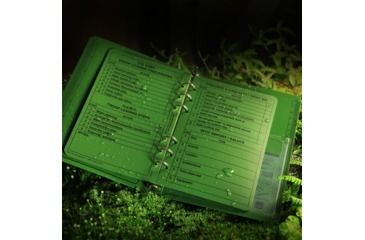 Rite in the Rain TACTICAL REFERENCE CARDS - GREEN, Green, 4 5/8 x 7 9200-R