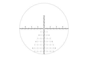 3-Riton Optics X5 Conquer 5-25x50mm MRAD Rifle Scope