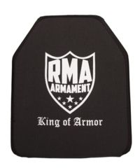 1-RMA Armament Level IV Single-Curve Ballistic Rifle Plate, 10x12in