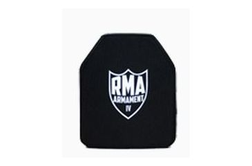 2-RMA Armament Level IV Single-Curve Ballistic Rifle Plate, 10x12in