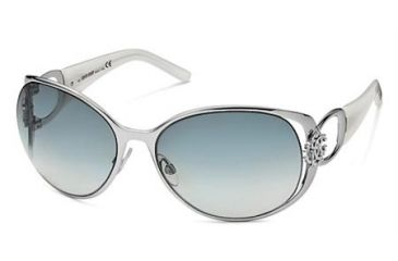 Roberto Cavalli Azzurrite RC456S Sun Glasses - Shiny Palladium Frame Color, Gradient Smoke Lens Color