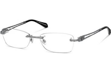 Roberto Cavalli RC0701 Eyeglass Frames - Shiny Gun Metal Frame Color