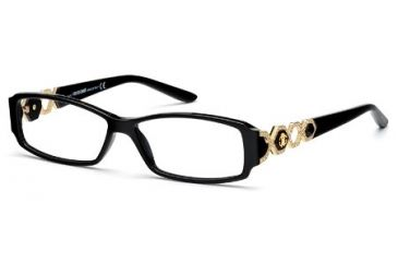 Roberto Cavalli RC0709 Eyeglass Frames - Shiny Black Frame Color