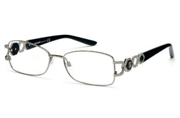 Roberto Cavalli RC0710 Eyeglass Frames - Shiny Light Ruthenium Frame Color
