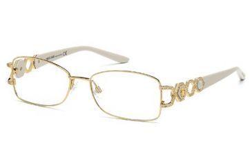 Roberto Cavalli RC0710 Eyeglass Frames - Shiny Rose Gold Frame Color