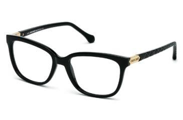 Roberto Cavalli RC0751 Eyeglass Frames - Shiny Black Frame Color