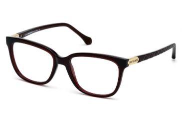 Roberto Cavalli RC0751 Eyeglass Frames - Shiny Bordeaux Frame Color