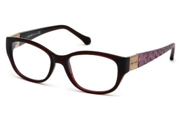 Roberto Cavalli RC0754 Eyeglass Frames - Shiny Bordeaux Frame Color