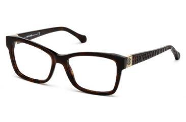Roberto Cavalli RC0755 Eyeglass Frames - Dark Havana Frame Color