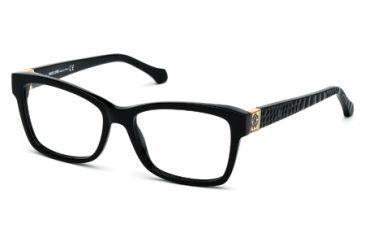 Roberto Cavalli RC0755 Eyeglass Frames - Shiny Black Frame Color