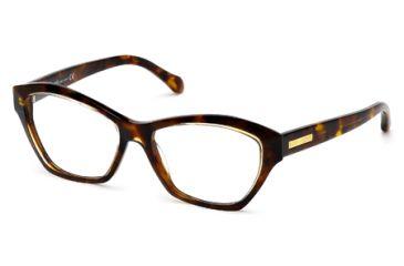Roberto Cavalli RC0757 Eyeglass Frames - Havana Frame Color