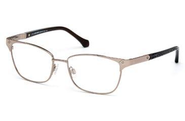 Roberto Cavalli RC0762 Eyeglass Frames - Shiny Light Bronze Frame Color