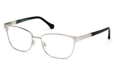 Roberto Cavalli RC0762 Eyeglass Frames - Shiny Palladium Frame Color