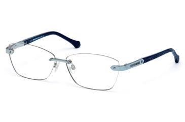 Roberto Cavalli RC0763 Eyeglass Frames - Shiny Light Blue Frame Color