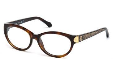 Roberto Cavalli RC0769 Eyeglass Frames - Dark Havana Frame Color