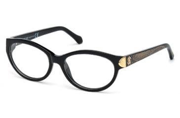 Roberto Cavalli RC0769 Eyeglass Frames - Shiny Black Frame Color
