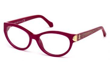 Roberto Cavalli RC0769 Eyeglass Frames - Shiny Pink Frame Color