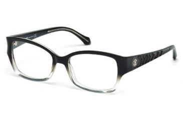Roberto Cavalli RC0772 Eyeglass Frames - Black/Crystal Frame Color
