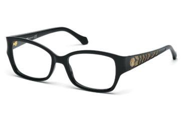 Roberto Cavalli RC0772 Eyeglass Frames - Shiny Black Frame Color