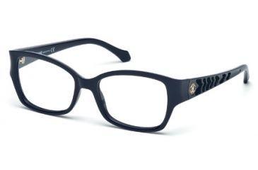 Roberto Cavalli RC0772 Eyeglass Frames - Shiny Blue Frame Color